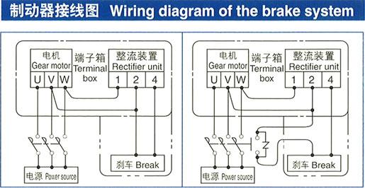 日立电机制动器回路图