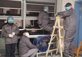 yaboapp中央空调服务商助力武汉同济医院